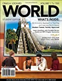 img - for WORLD, Volume 1 (with Review Cards and History CourseMate with eBook, Wadsworth World History Resource Center 2-Semester Printed Access Card) (Available Titles CourseMate) book / textbook / text book