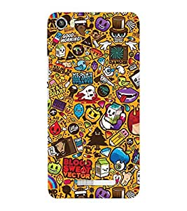 EPICCASE blood and sweat Mobile Back Case Cover For Lava Iris X8 (Designer Case)