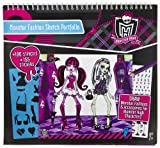 Monster High Monster Fashion Sketch Portfolio