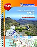 Spain & Portugal 2015 - Michelin tourist and motoring atlas A4 spiral