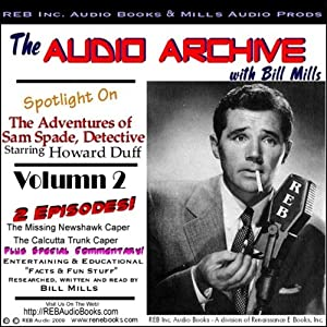 A Sam Spade Audio Double-Feature Starring Howard Duff, Volume 2 Radio/TV Program