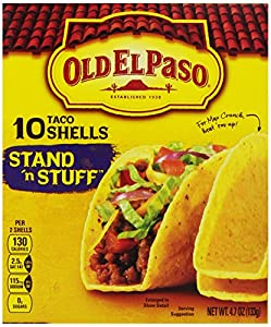 Old El Paso Stand 'N Stuff Taco Shells, 4.7 Oz