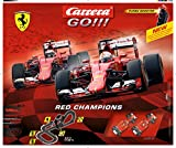 Carrera GO!!! - Red Champions Slot Car Set (1:43 Scale)