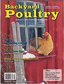 feb march 2012 backyard poultry single issue magazine vol 7 number