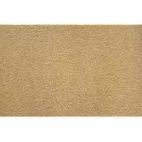 Dean Pet Friendly Non-Skid 2' x 3' Carpet Accent Rug/Anti-Fatigue Mat: Gold