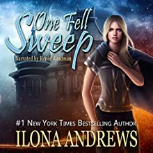 One Fell Sweep: Innkeeper Chronicles, Book 3 Audiobook by Ilona Andrews Narrated by Renee Raudman