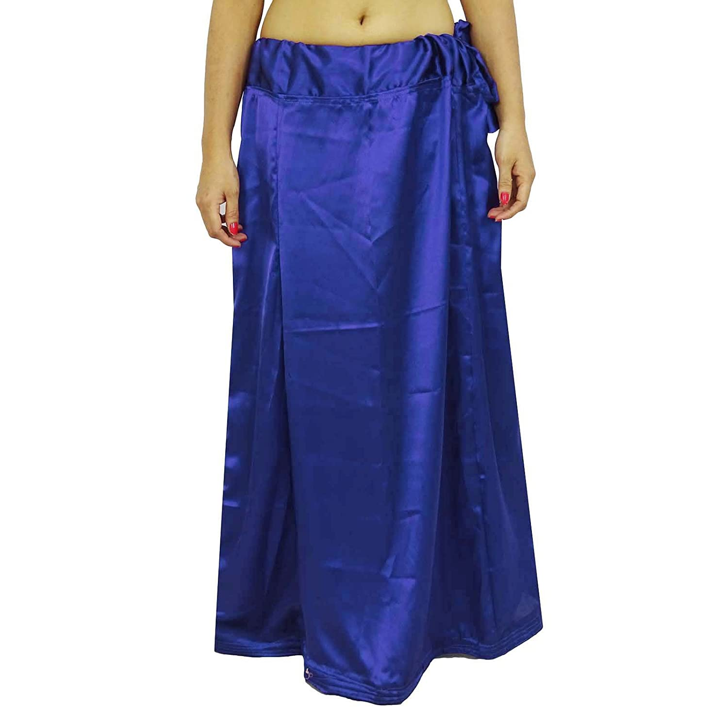 Satin Silk Saree Petticoatunderskirt Bollywood Indian Futter für Sari online kaufen