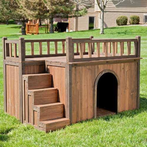 Boomer & George Stair Case Dog House Size