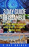 Turkey Travel: 3 Day Guide to Istanbul, A 72-hour Definitive Guide on What to See, Eat and Enjoy in Istanbul, Turkey (3 Day Travel Guides Book 6)