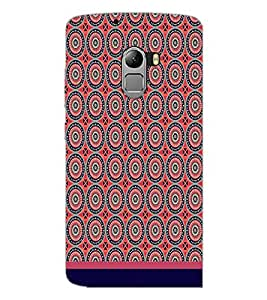 PrintDhaba Pattern D-1732 Back Case Cover for LENOVO K4 NOTE A7010a48 (Multi-Coloured)