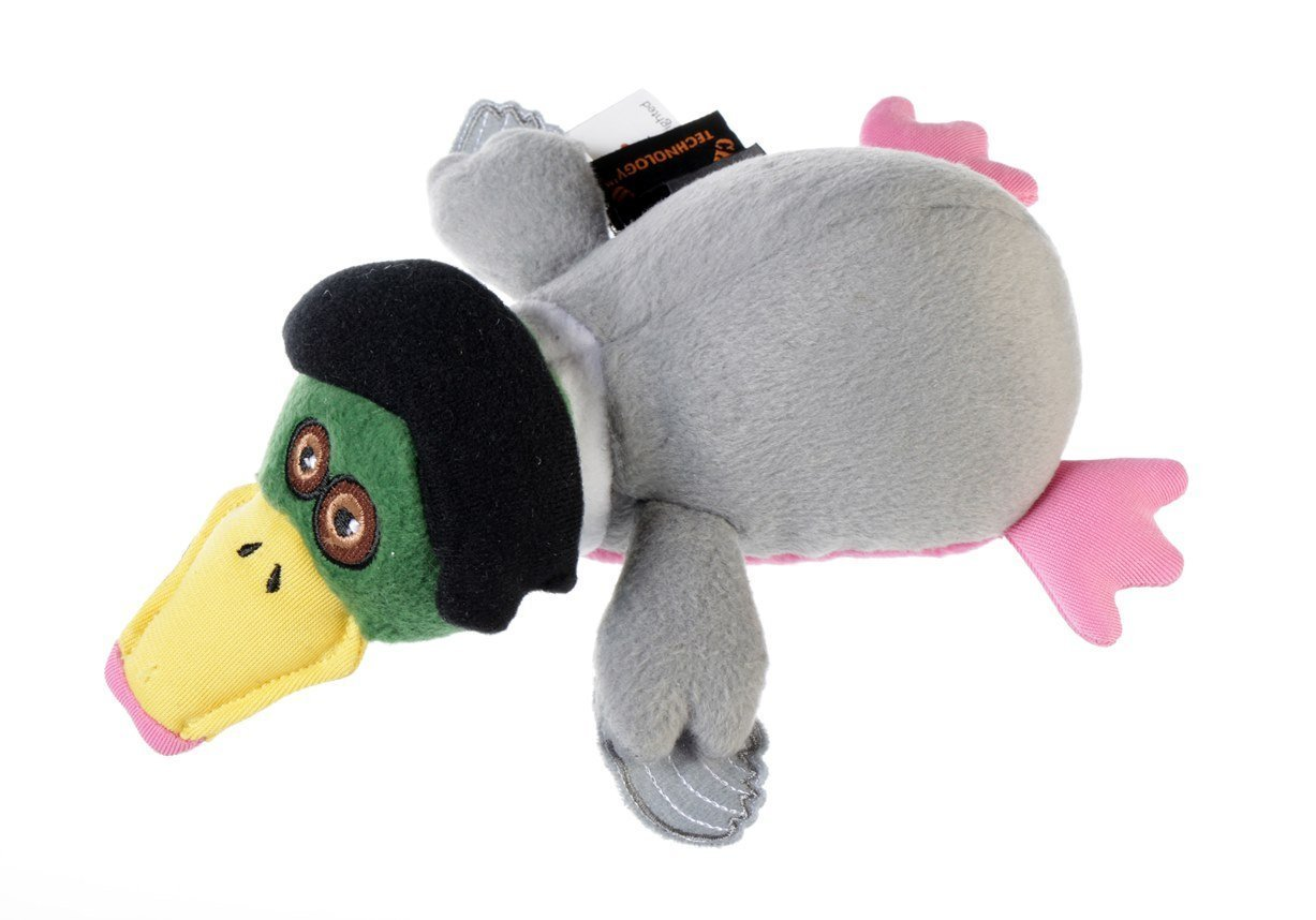 Duck Dynasty DD800002 Miss Kay Duck with Chew Guard Technology Tough Plush Dog Toy, Small duck animal series many chew toy page 6
