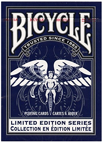 MMS Bicycle Limited Edition Series #2 by USPCC Trick, Blue - 1