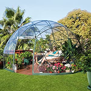 Garten iglu tente de jardin en forme d 39 igloo 3 6 m amazon for Igloo de jardin