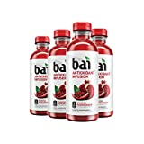 Bai Flavored Water, Ipanema Pomegranate, Antioxidant Infused Drinks, 18 Fluid Ounce Bottles, 6 count
