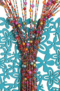 Molly 'N Me Beaded Curtain - Multi Color