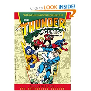 The Thunder Agents Companion by Jon B. Cooke