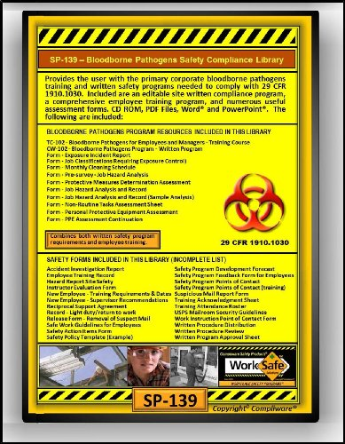 bloodborne pathogens policy template - sp 139 bloodborne pathogens safety compliance library