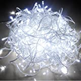 Morelight 10M 100 LED WHITE STRING FAIRY LIGHTS CHRISTMAS WEDDING XMAS BIRTHDAY PARTY London Fast Ship