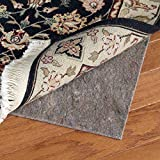 Con-Tact Brand Super Movenot Premium Reversible Felt Rug Pad for Hard Surfaces and Carpet, 8' x 11'