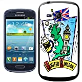 Fancy A Snuggle United Kingdom Beer Big Ben Union Jack Clip-on Hard Back Cover for Samsung Galaxy S3 Mini i8190