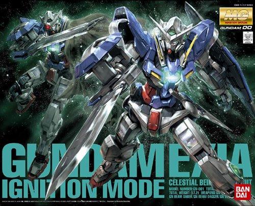 Gundam GN-001 Gundam Exia Ignition Mode MG 1/100 Scale