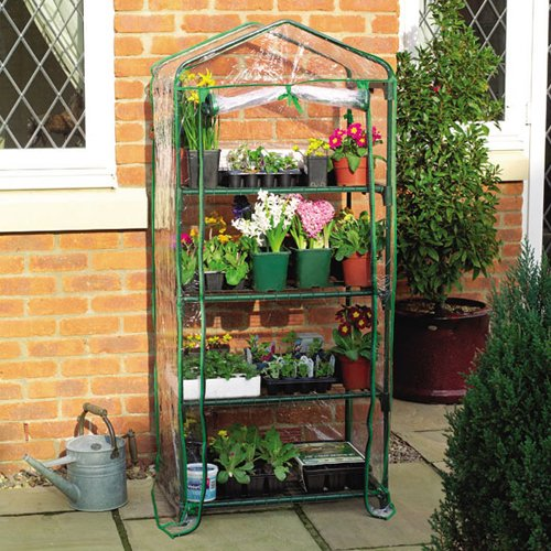 Gardman 4 Tier Mini Greenhouse Cover