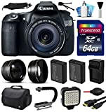 Canon EOS 60D SLR Digital Camera with 18-135mm IS Lens (64GB Essential Bundle)