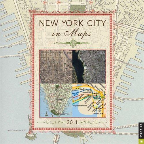 New York City in Maps: 2011 Wall Calendar