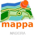 Madeira, Portugal, Offline mappa Map...