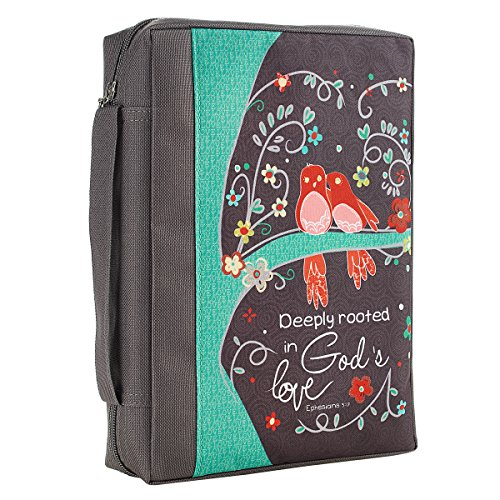 Grows Printed Poly Canvas Bible Cover
