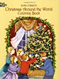 img - for Christmas Around the World Coloring Book (Dover Holiday Coloring Book) book / textbook / text book