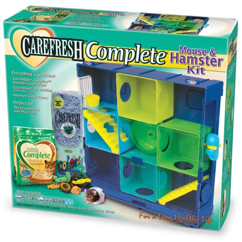 Ware Manufacturing Critter Universe Carefresh Mouse and Hamster Cage Kit