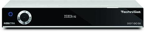 Technisat Digit ISIO S2 - HDTV Twin-Satellitenreceiver (PVR-Funktion via USB oder im Netzwerk, UPnP-Livestreaming, 3x USB 2.0, CI+, Ethernet), silber