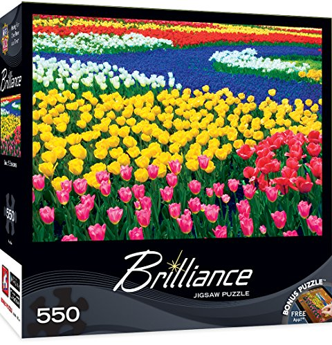 MasterPieces Brilliance Collection Sea of Blossoms Puzzle (550 Piece)