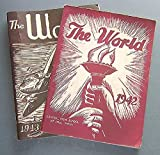 img - for The World: An Illustrated Literary Magazine, Published By the Literary Club, St. Paul Central High School (1942 and 1943 Editions) book / textbook / text book
