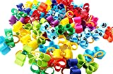 PET SHOW Small Pet Hair Bows Ribbon Dog Cat Puppy Grooming Hair Accessories Assorted Pack of 20
