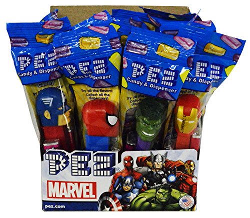 Marvel Comics PEZ Candy Dispensers: Pack of 12 (Dc Pez Dispensers compare prices)