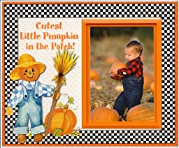 Cutest Pumpkin in the Patch - Halloween Picture Frame Gift