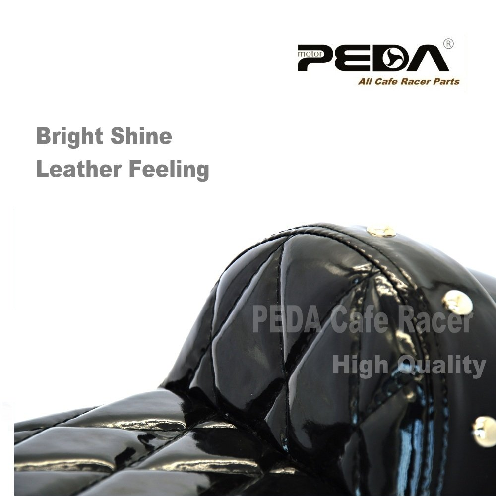 PEDA Waterproof Cafe Racer Stud Seat For Honda Gorilla Motorcycle Retro Hump Monkey Z Vintage 1