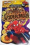 Marvel Ultimate Spiderman Shaped Sticker Book ~ Halloween Edition (Spider-Sense Tingling) by Tri-Coastal Design