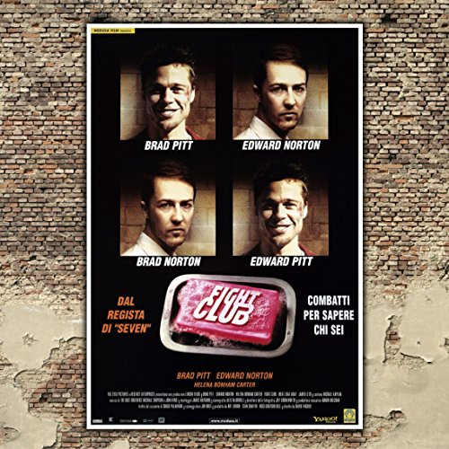 Poster Cinema Fight Club - Formato: 35x50 CM