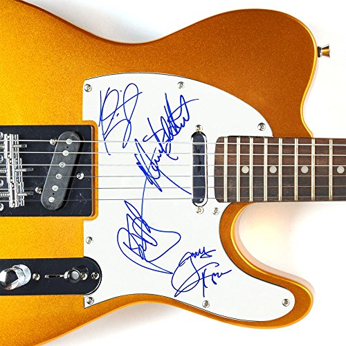 "Extreme - ""Gary Cherone"" & ""Nuno"" - Autographed Gold Telecaster Guitar"