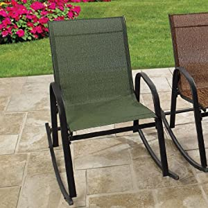 Amazon Brylanehome Extra Wide Outdoor Rocking Chair