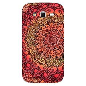 Jugaaduu Red DayDream Pattern Back Cover Case For Samsung Galaxy Grand 2