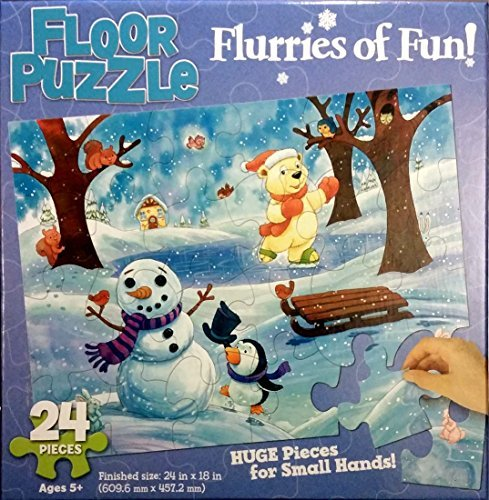Flurries of Fun - Floor Puzzle