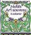 Motifs art nouveau à colorier
