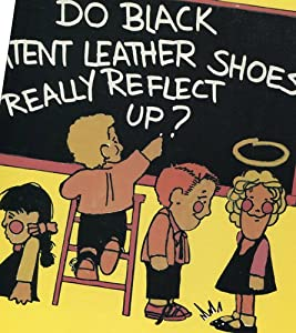 Do Black Patent Shoes Reflect Up