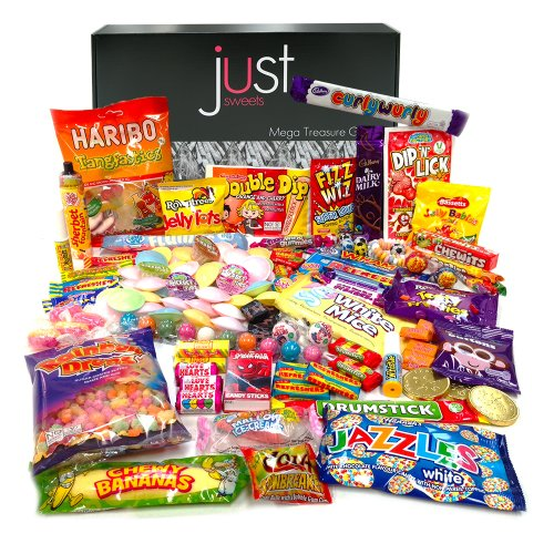 The Best Ever Retro Sweets MEGA Treasure Gift Box - The Original Sweet Shop in a Box! - Jam Packed With the Best...
