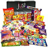 The Best Ever Retro Sweets MEGA Treasure Gift Box - The Original Sweet Shop in a Box! - Jam Packed With the Best, Most Mouthwatering Retro Sweets. Perfect Inexpensive Birthday Gift, Get Well Soon, Congratulations, Christmas Present, Secret Santa or Anniversary Present. Hamper Ideas For Him and Her: Boys & Girls, Mums & Dads, Men & Women of All Ages.