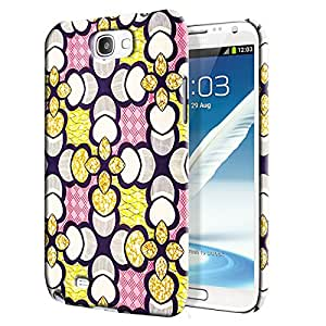 Theskinmantra Petal Yellow Back Cover for Samsung Galaxy Note 2